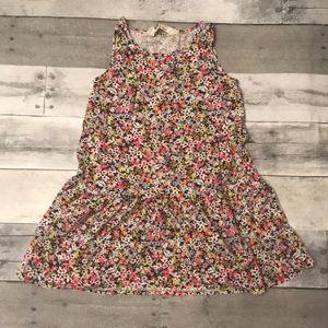 Girls Floral Print H&M Dress Size 4-6
